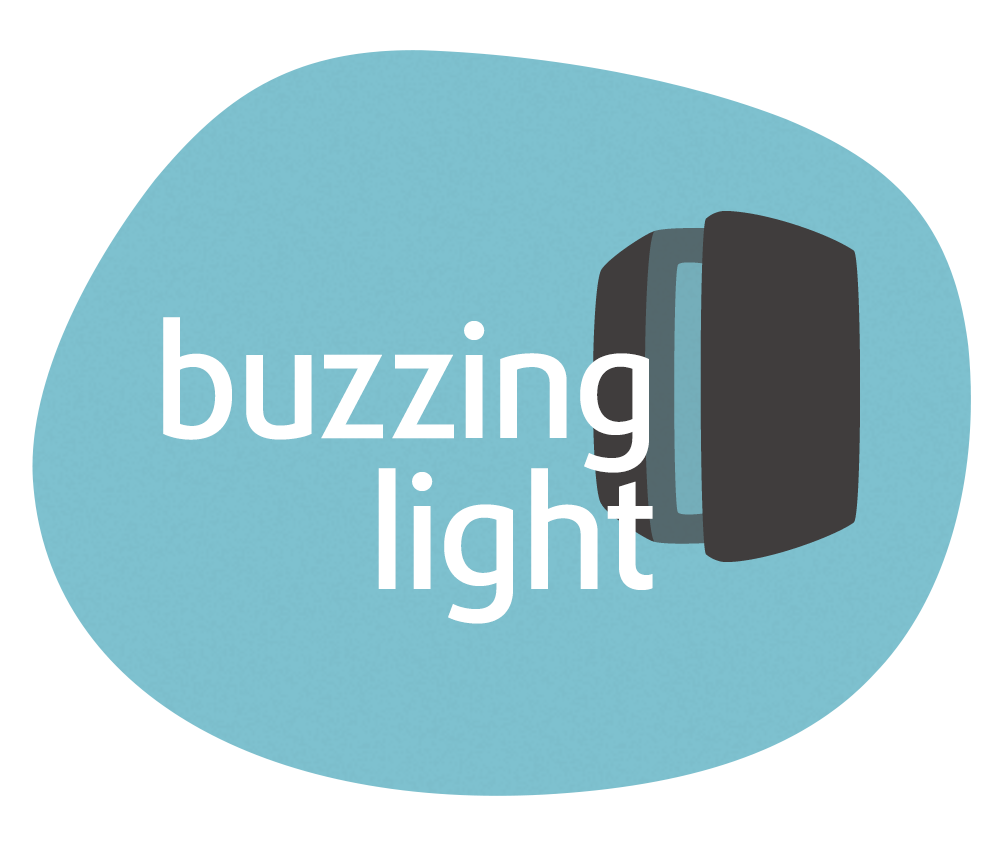 logo buzzing light